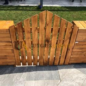 Fence Looking Wooden Garden Door