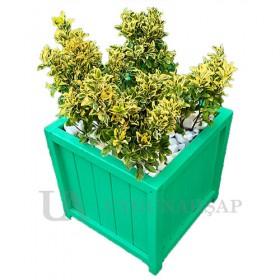 Matchboard Wooden Flowerpot
