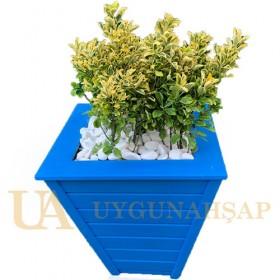 Conical Wooden Flowerpot